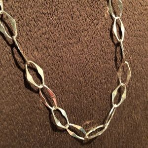Milor Sterling Silver Chain Necklace 24""
